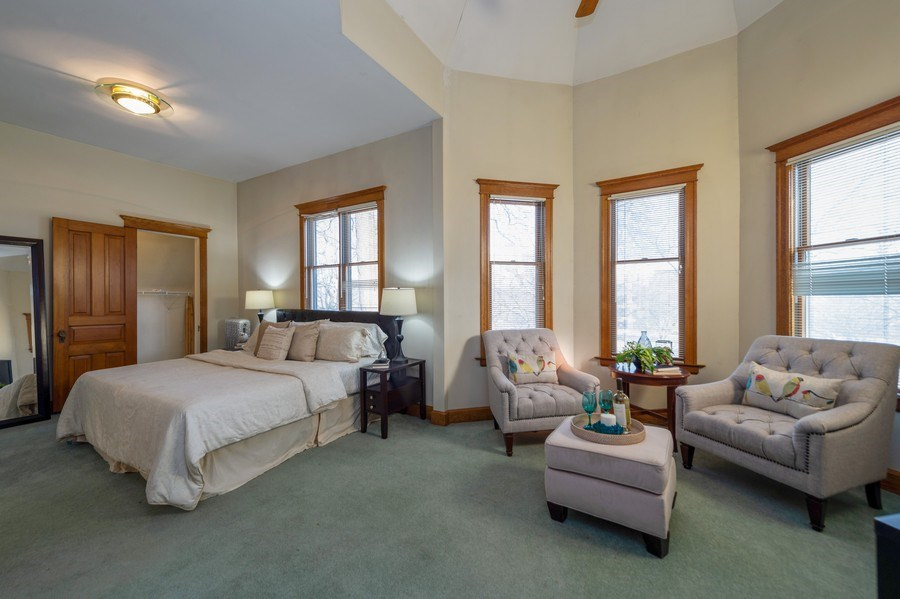 Real Estate Photography - 2549 W Logan Blvd, Chicago, IL, 60647 - Master Bedroom