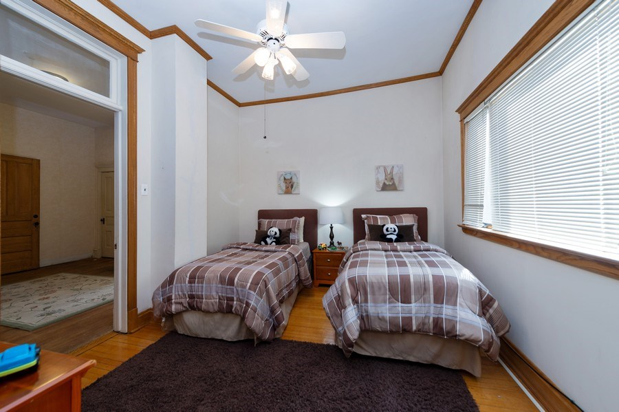 Real Estate Photography - 2549 W Logan Blvd, Chicago, IL, 60647 - Bedroom