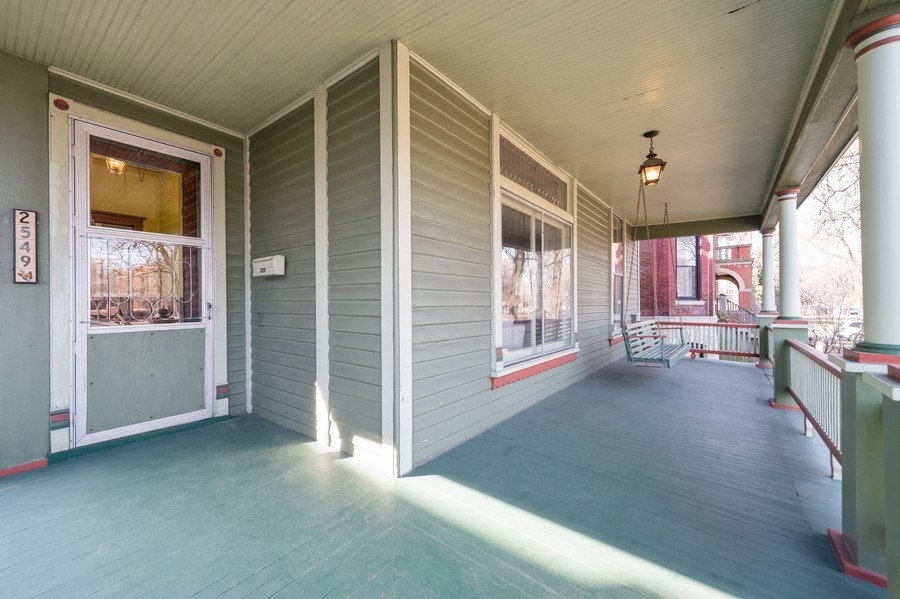 Real Estate Photography - 2549 W Logan Blvd, Chicago, IL, 60647 - Porch