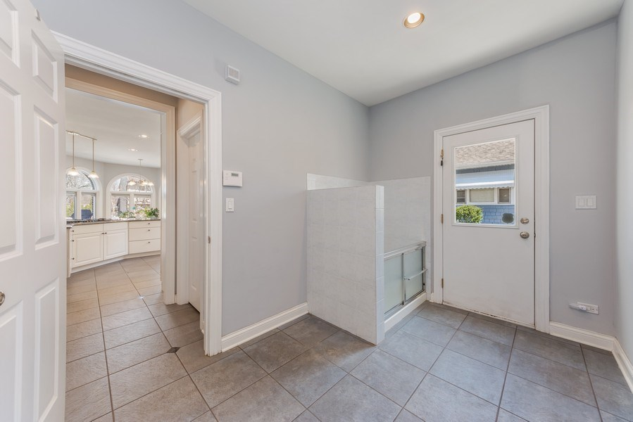 Real Estate Photography - 716 Howard, Des Plaines, IL, 60018 - Mudroom
