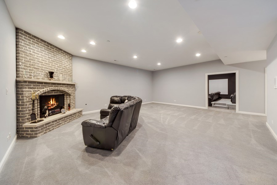 Real Estate Photography - 716 Howard, Des Plaines, IL, 60018 - Basement