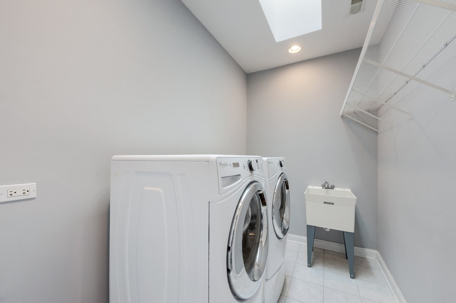 Real Estate Photography - 716 Howard, Des Plaines, IL, 60018 - Laundry Room