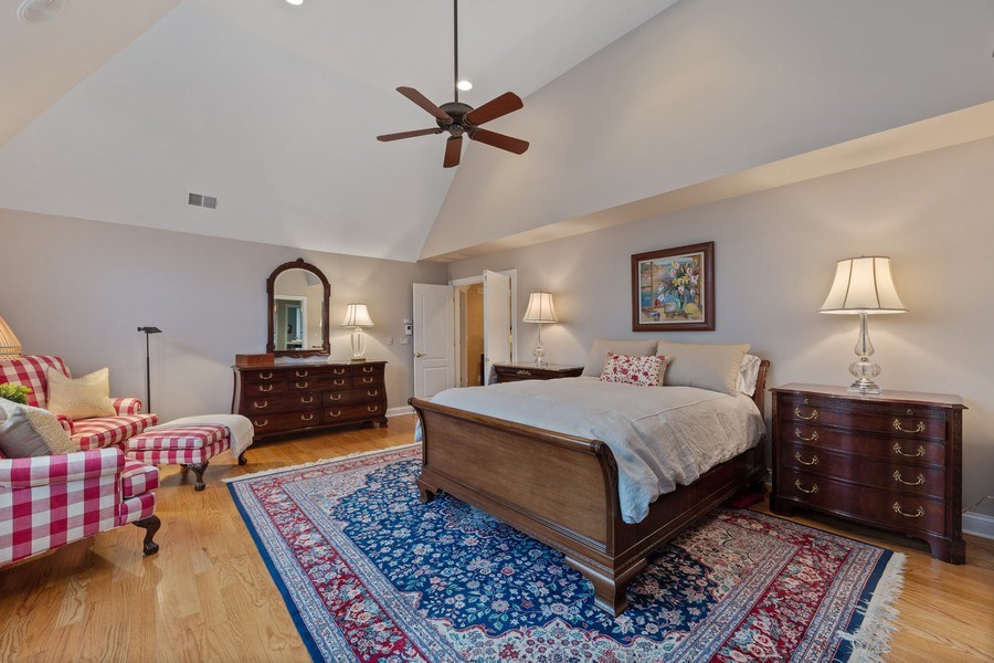 Real Estate Photography - 810 S Clay, Hinsdale, IL, 60521 - Master Bedroom