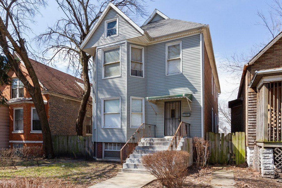 Real Estate Photography - 7814 S Ellis Ave, Chicago, IL, 60619 - Front View
