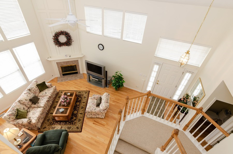 Real Estate Photography - 2749 Bayview, Algonquin, IL, 60102 - Living Room