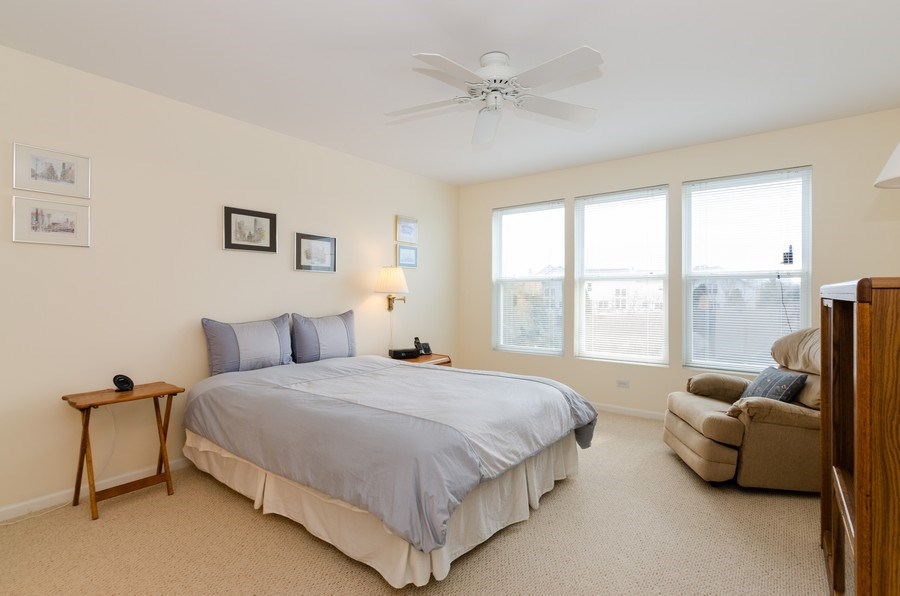 Real Estate Photography - 2749 Bayview, Algonquin, IL, 60102 - Master Bedroom