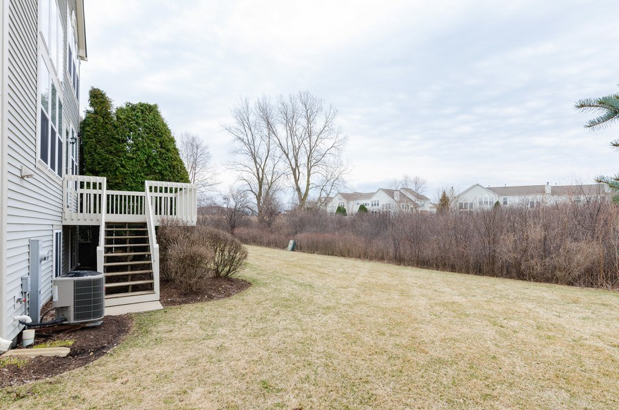 Real Estate Photography - 2749 Bayview, Algonquin, IL, 60102 - Back Yard