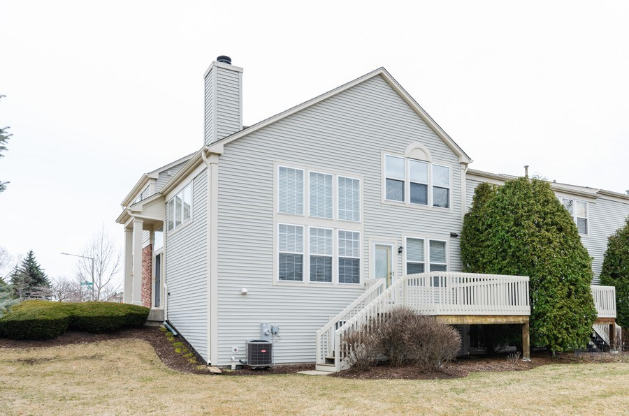 Real Estate Photography - 2749 Bayview, Algonquin, IL, 60102 - Rear View