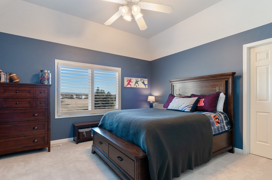 Real Estate Photography - 40w002 Lowell Place, St. Charles, IL, 60175 - 3rd Bedroom