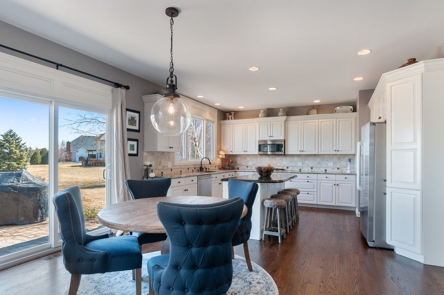 Real Estate Photography - 40w002 Lowell Place, St. Charles, IL, 60175 - Kitchen / Breakfast Room