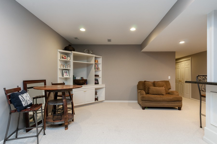 Real Estate Photography - 40w002 Lowell Place, St. Charles, IL, 60175 - Basement
