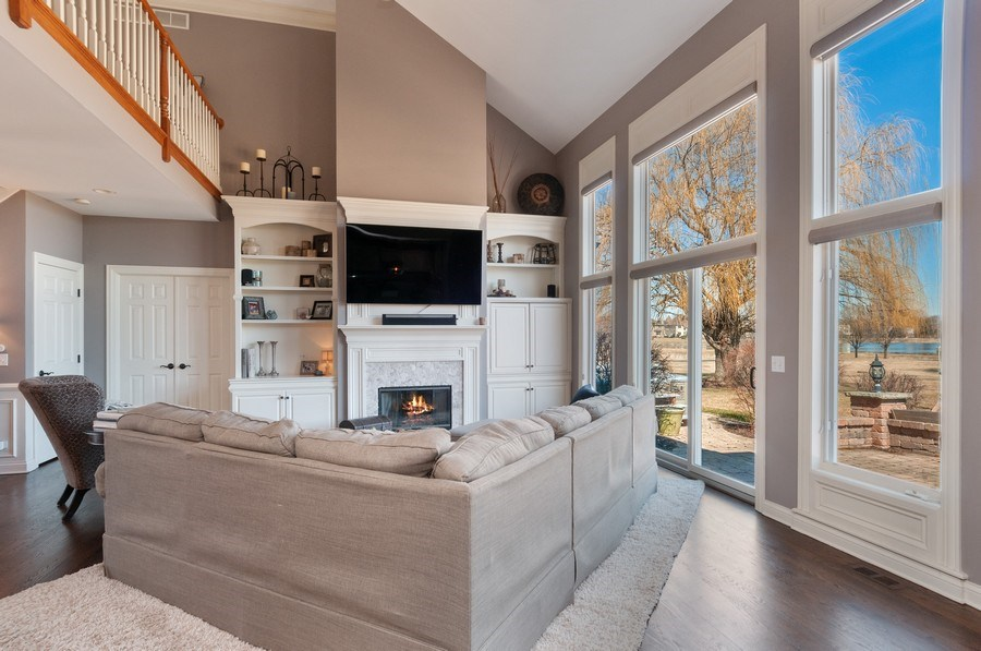 Real Estate Photography - 40w002 Lowell Place, St. Charles, IL, 60175 - Family Room