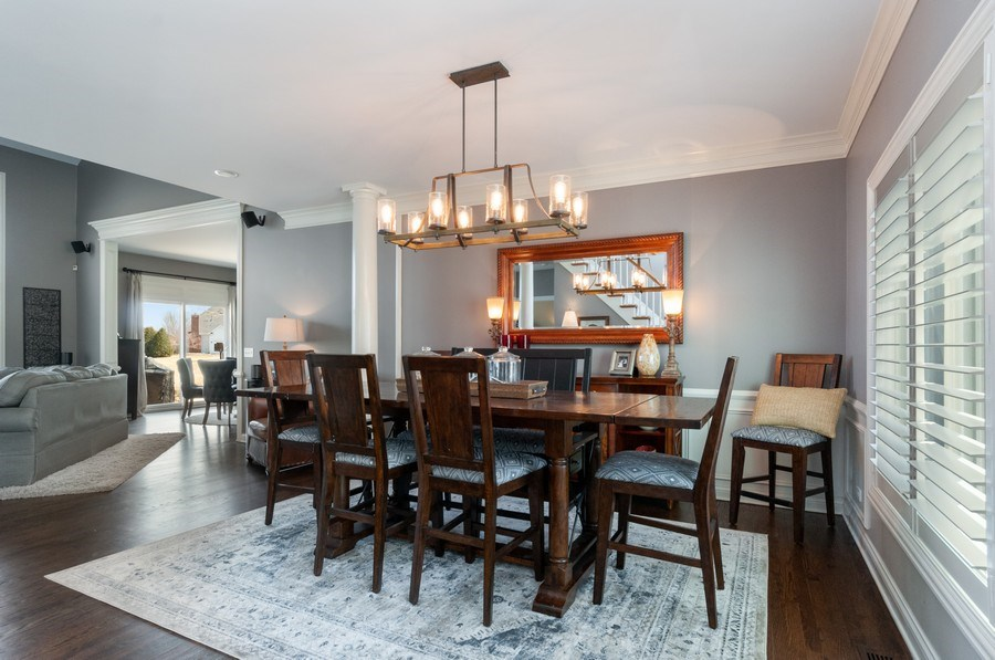 Real Estate Photography - 40w002 Lowell Place, St. Charles, IL, 60175 - Dining Room