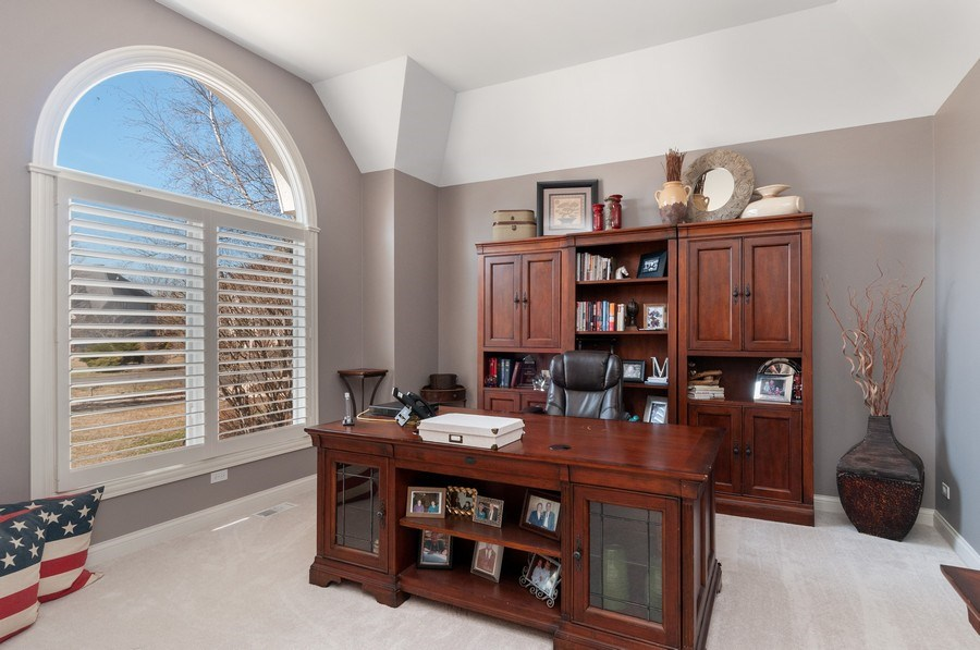 Real Estate Photography - 40w002 Lowell Place, St. Charles, IL, 60175 - Office