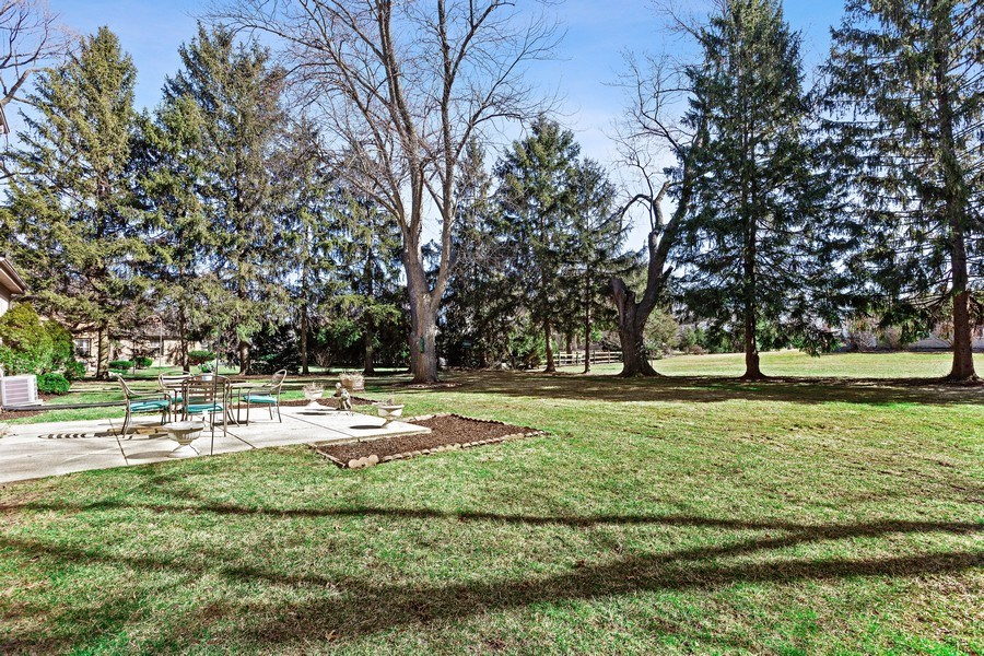 Real Estate Photography - 9 Sheffield Lane, Oak Brook, IL, 60523 - Back Yard