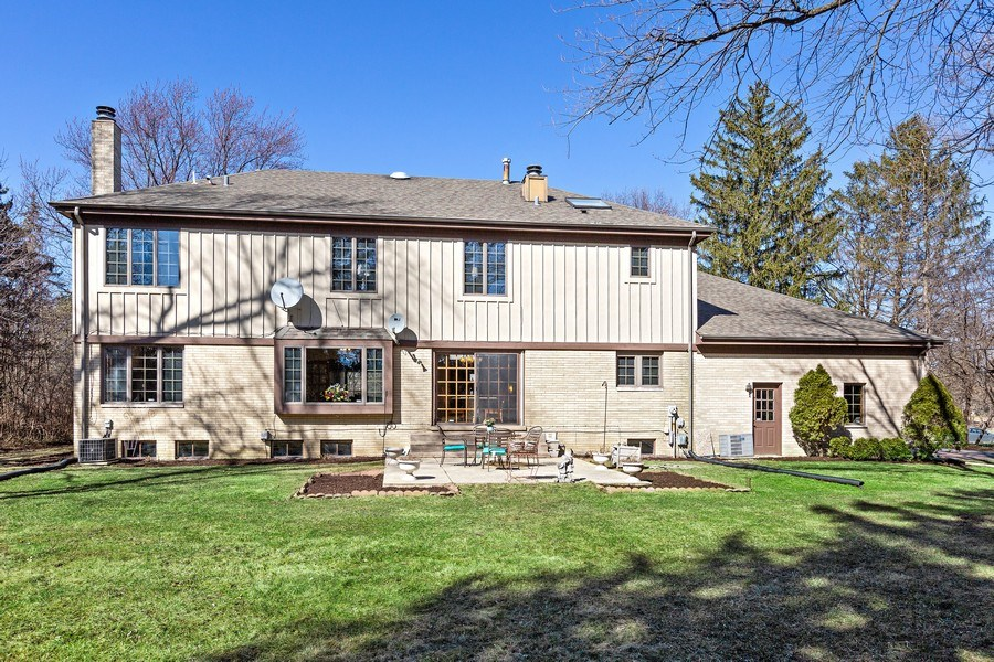 Real Estate Photography - 9 Sheffield Lane, Oak Brook, IL, 60523 - Back of Home