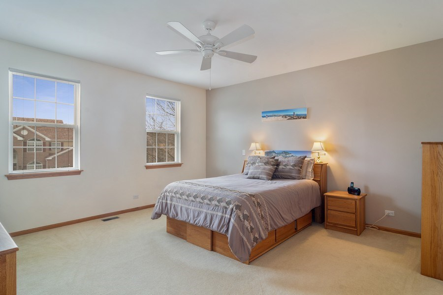 Real Estate Photography - 1257 Wellington Dr, Palatine, IL, 60067 - Master Bedroom