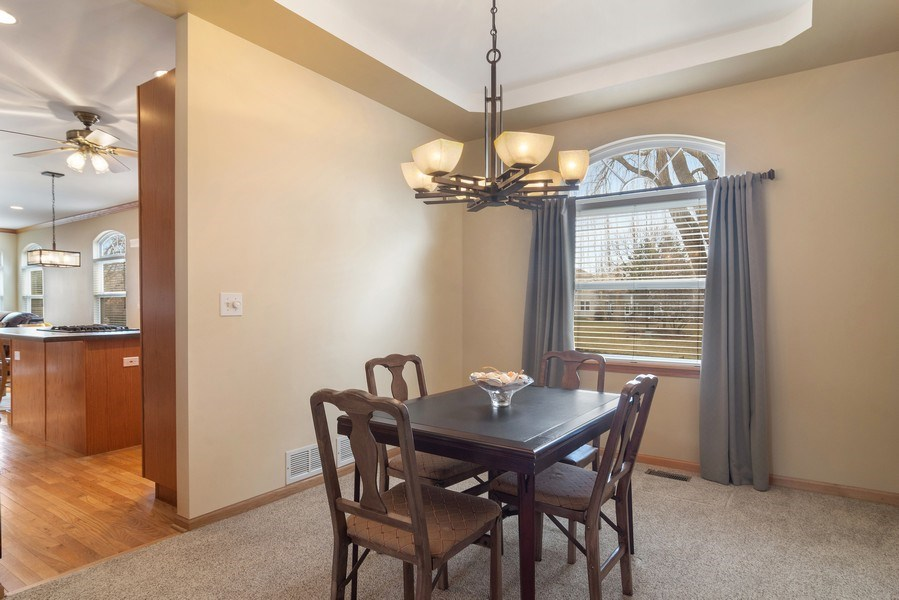 Real Estate Photography - 1257 Wellington Dr, Palatine, IL, 60067 - Dining Room