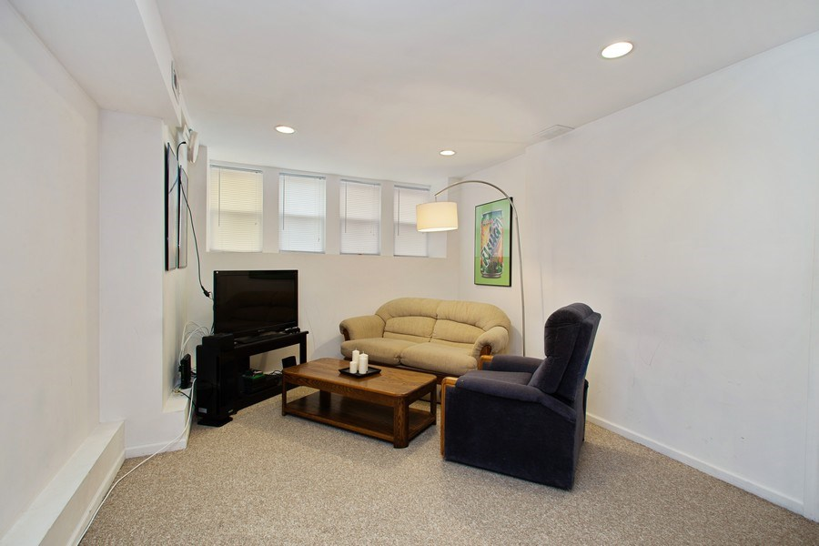 Real Estate Photography - 3634 N Hermitage, Chicago, IL, 60613 - Living Room