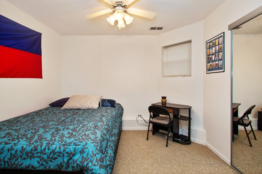 Real Estate Photography - 3634 N Hermitage, Chicago, IL, 60613 - 2nd Bedroom