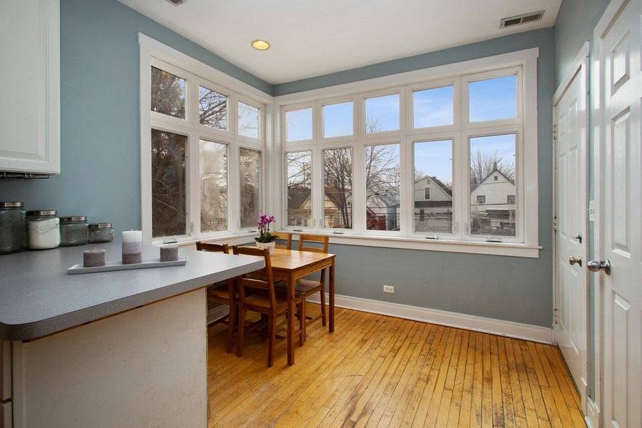 Real Estate Photography - 3634 N Hermitage, Chicago, IL, 60613 - Kitchen / Breakfast Room