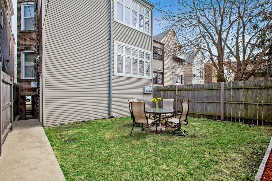 Real Estate Photography - 3634 N Hermitage, Chicago, IL, 60613 - Rear View
