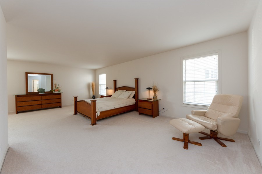 Real Estate Photography - 496 Haleys Hill Ct, Palatine, IL, 60074 - Master Bedroom