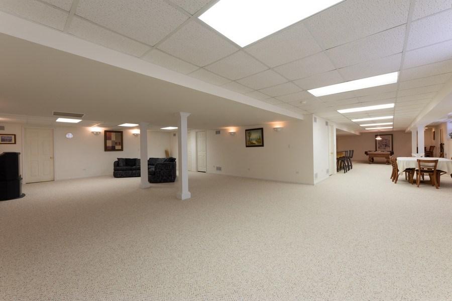 Real Estate Photography - 496 Haleys Hill Ct, Palatine, IL, 60074 - Basement