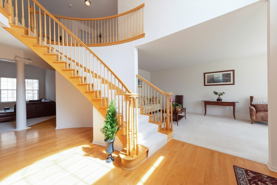 Real Estate Photography - 496 Haleys Hill Ct, Palatine, IL, 60074 - Foyer