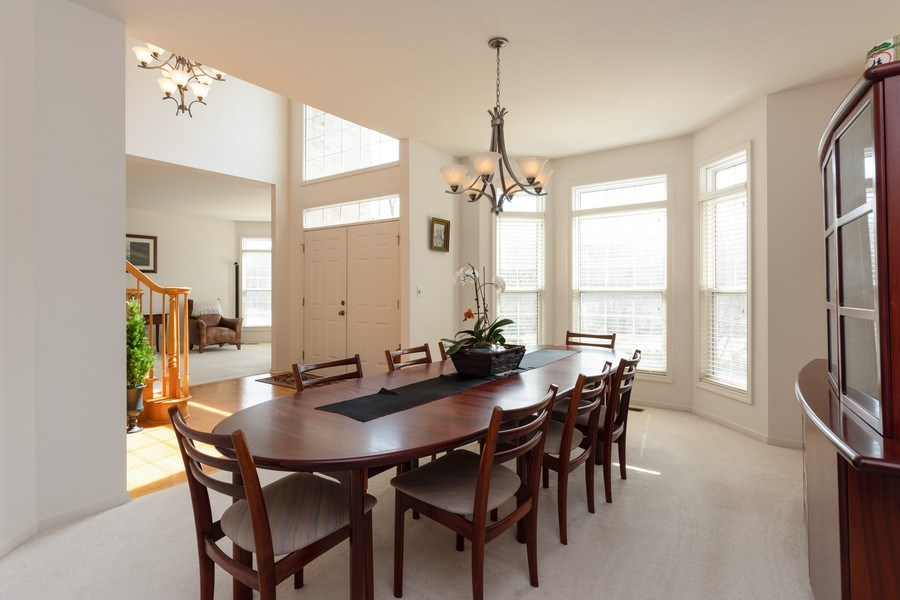 Real Estate Photography - 496 Haleys Hill Ct, Palatine, IL, 60074 - Dining Room