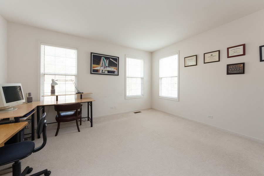 Real Estate Photography - 496 Haleys Hill Ct, Palatine, IL, 60074 - Office