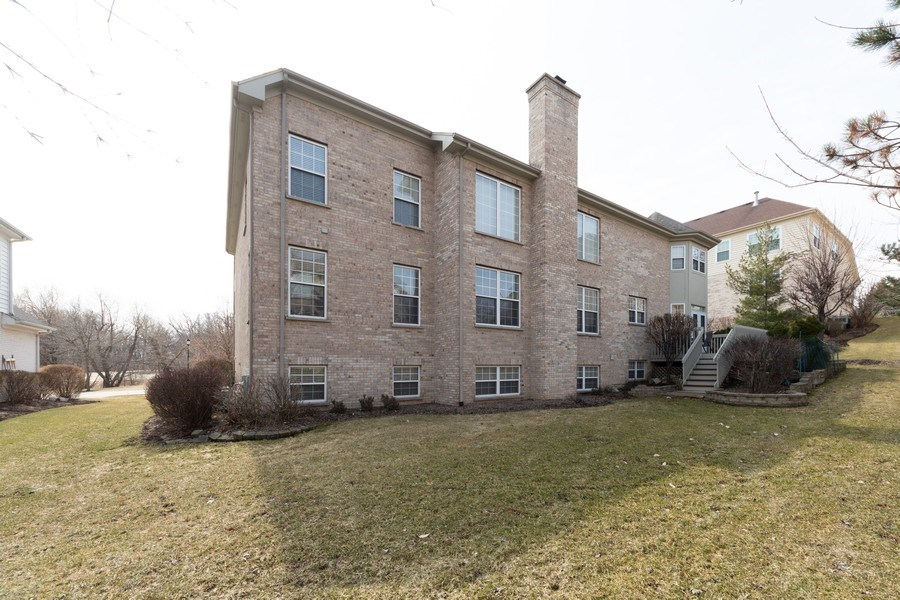 Real Estate Photography - 496 Haleys Hill Ct, Palatine, IL, 60074 - Rear View