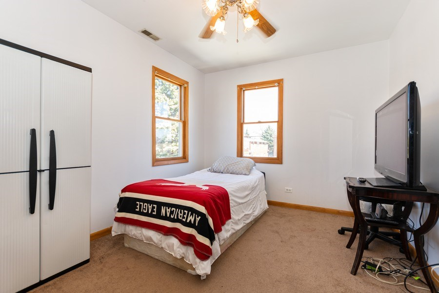 Real Estate Photography - 4507 DuBois Blvd, Brookfield, IL, 60513 - 3rd Bedroom