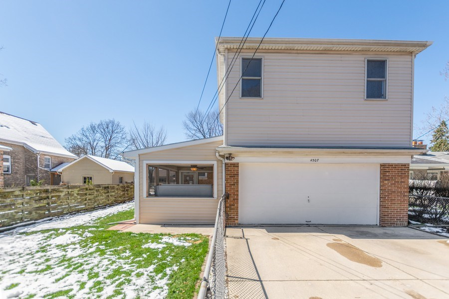 Real Estate Photography - 4507 DuBois Blvd, Brookfield, IL, 60513 - Rear View