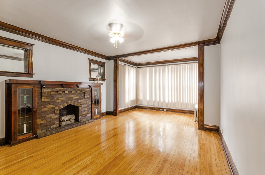 Real Estate Photography - 1522 E 68th Street, Chicago, IL, 60619 - Living Room