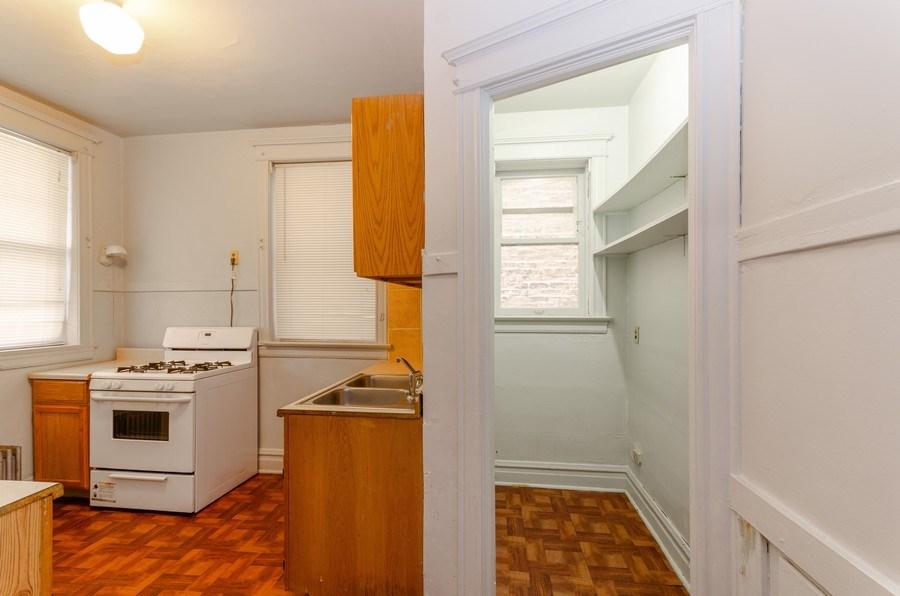 Real Estate Photography - 1522 E 68th Street, Chicago, IL, 60619 - Kitchen
