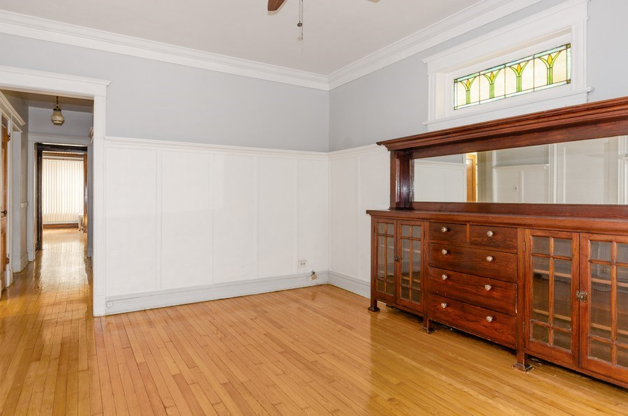 Real Estate Photography - 1522 E 68th Street, Chicago, IL, 60619 - Dining Room