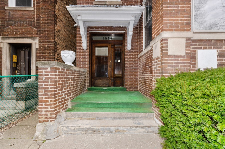 Real Estate Photography - 1522 E 68th Street, Chicago, IL, 60619 - Front View