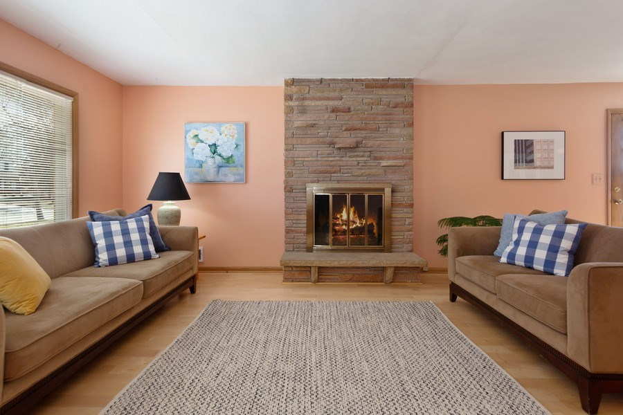 Real Estate Photography - 4077 N 111th St, Wauwatosa, WI, 53222 - Living Room