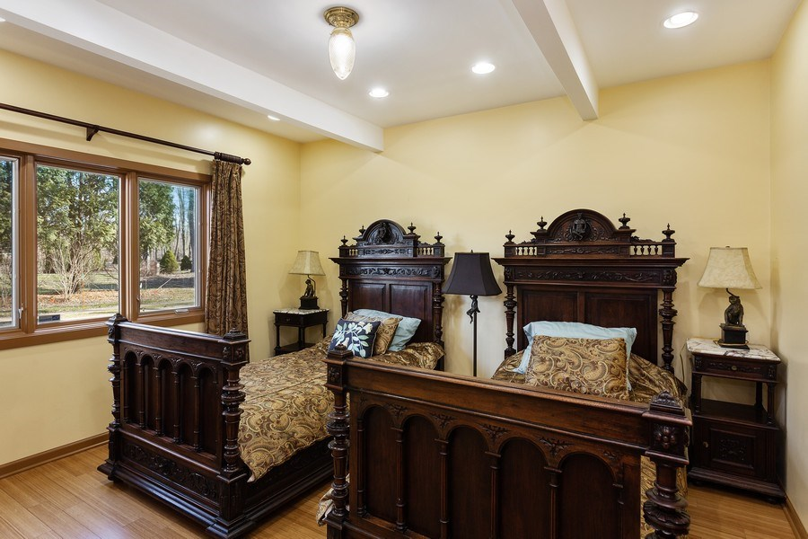 Real Estate Photography - 353 E 900 North, Cottage, Laporte, IN, 46350 - Bedroom
