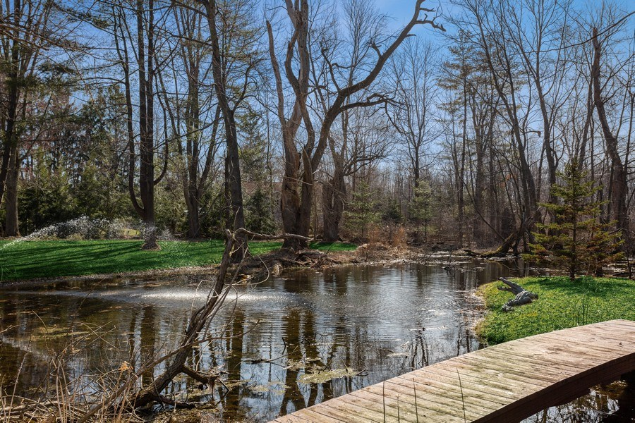 Real Estate Photography - 353 E 900 North, Cottage, Laporte, IN, 46350 - Pond