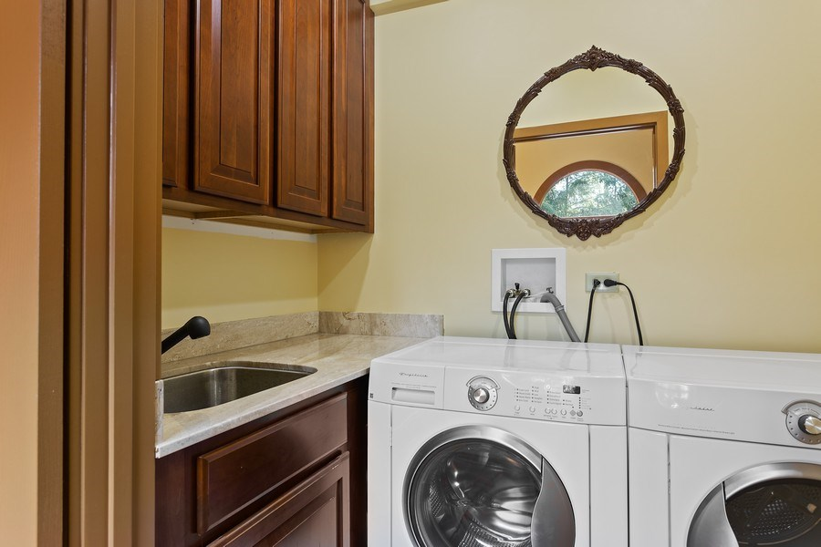 Real Estate Photography - 353 E 900 North, Cottage, Laporte, IN, 46350 - Laundry Room