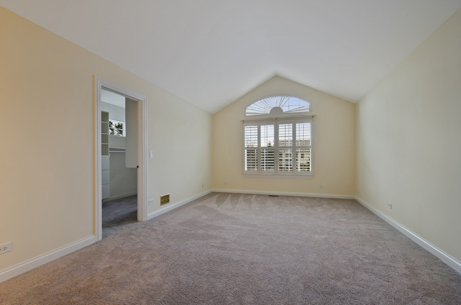 Real Estate Photography - 2315 Chestnut, Glenview, IL, 60026 - Master Bedroom