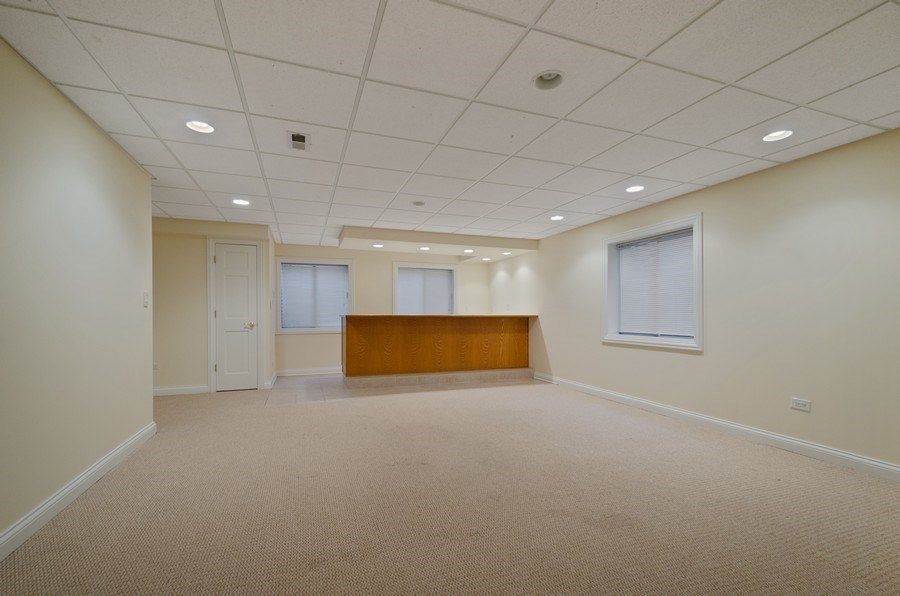 Real Estate Photography - 2315 Chestnut, Glenview, IL, 60026 - Recreational Room