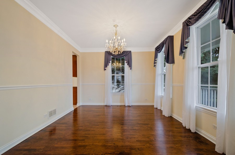 Real Estate Photography - 2315 Chestnut, Glenview, IL, 60026 - Dining Room