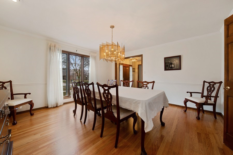 Real Estate Photography - 517 Forest Mews Dr, Oak Brook, IL, 60523 - Dining Room