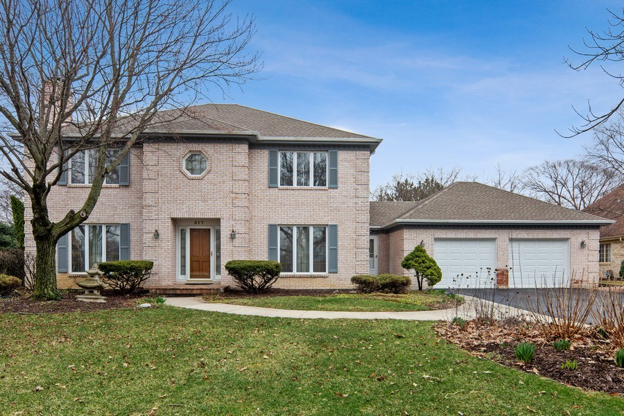 Real Estate Photography - 517 Forest Mews Dr, Oak Brook, IL, 60523 - Front View