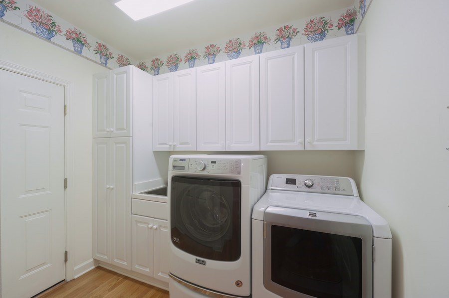 Real Estate Photography - 1812 Dunhill Cir, Glenview, IL, 60025 - Laundry Room