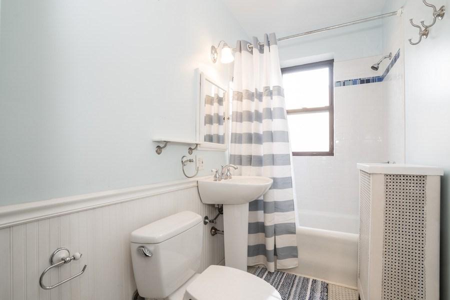 Real Estate Photography - 2842 n Francisco #1b, Chicago, IL, 60618 - Master Bathroom