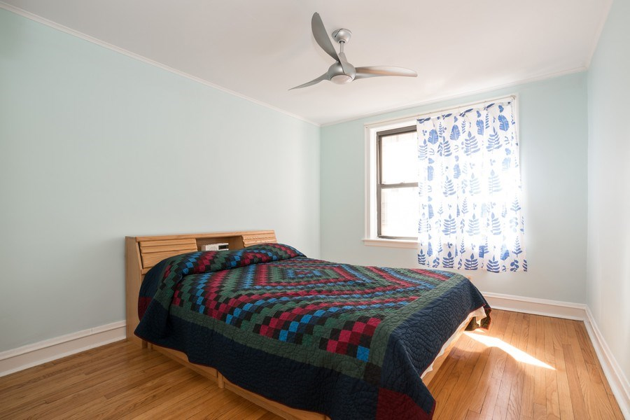 Real Estate Photography - 2842 n Francisco #1b, Chicago, IL, 60618 - Master Bedroom